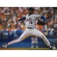 Doc Gooden signed New York Mets 16X20 Photo MLB Hologram