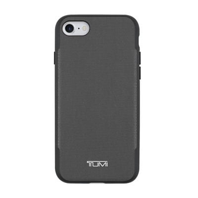 TUMI Coated Canvas Co-Mold Case for iPhone 7 - Coated Canvas Gray