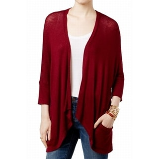 Tommy Hilfiger NEW Red Women's Size Small S Dolman Cardigan Sweater