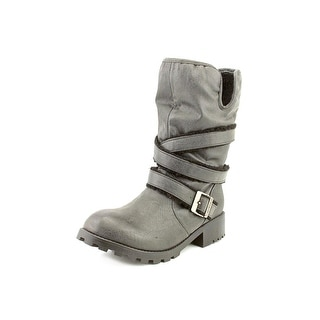 Dirty Laundry Teela Round Toe Synthetic Mid Calf Boot