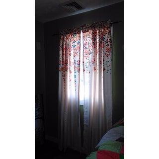 Lush Decor Weeping Flowers Room-darkening Window Curtain Panel Pair - 52 x 84
