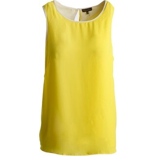 Vince Camuto Womens Split Back Sleeveless Pullover Top - XS
