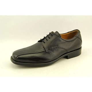 Geox Federico Men Round Toe Leather Black Oxford