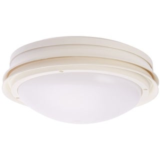 Hunter Fan 28438 Marine II Outdoor Ceiling Fan Light Kit, White