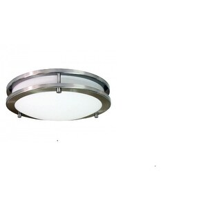 HomeSelects 6102 Saturn 12-inch Round Surface Mount Light