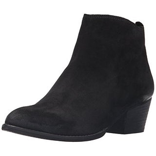 Dolce Vita Womens Slade Ankle Boots Suede Almond Toe