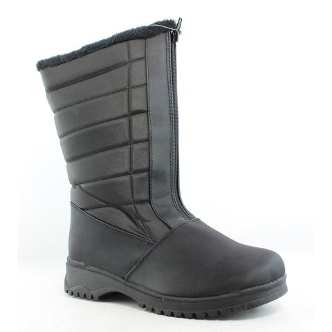 Tundra Womens Christy Black Snow Boots Size 9