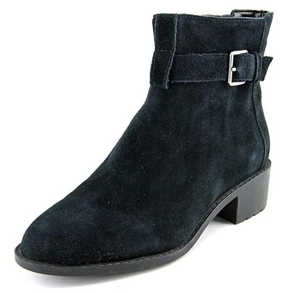 Cole Haan Putnam WP Bootie Black Suede Boots
