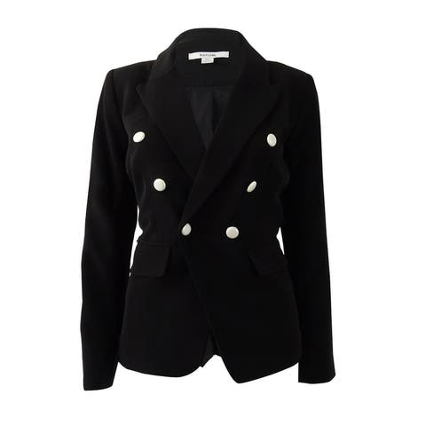 Kensie Women's Double-Breasted Blazer - Black