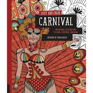 Rockport Books-Just Add Color - Carnival