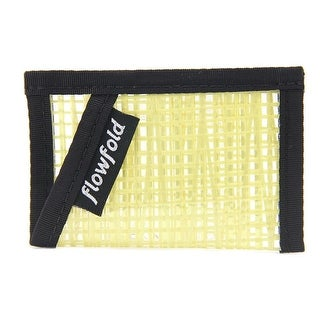 Flowfold Minimalist Wallet Men Nylon Yellow Wallet
