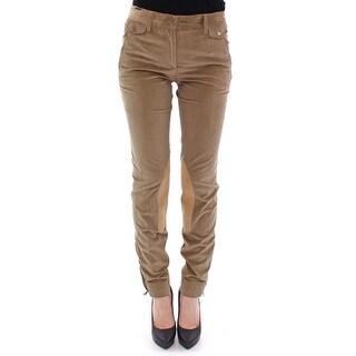 Dolce & Gabbana Brown Cotton Corduroys Jeans Pants - it40-s