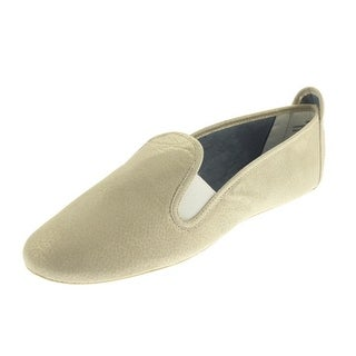 Dimmi Womens Stretch Leather Round Toe Loafers - 10 medium (b,m)