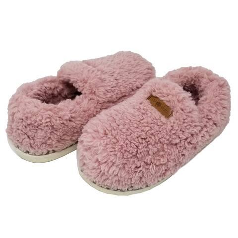GaaHuu Womens berber mocassin slipper with memory foam