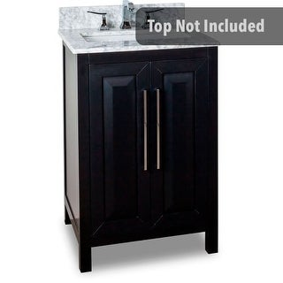 Jeffrey Alexander VAN101-24 23-11/16 Inch Single Free Standing Hardwood Vanity Cabinet Only from the Cade Contempo Collection
