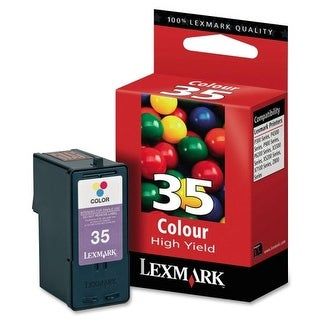 Lexmark 18C0035 Lexmark Color High Yield Ink Cartridge - Tri-color - Inkjet - 450 Page - 1 Each