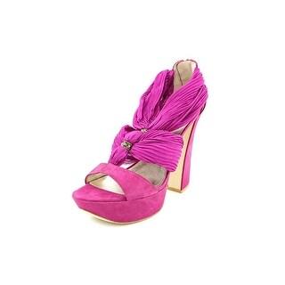 Pelle Moda Benita Women Open Toe Suede Sandals