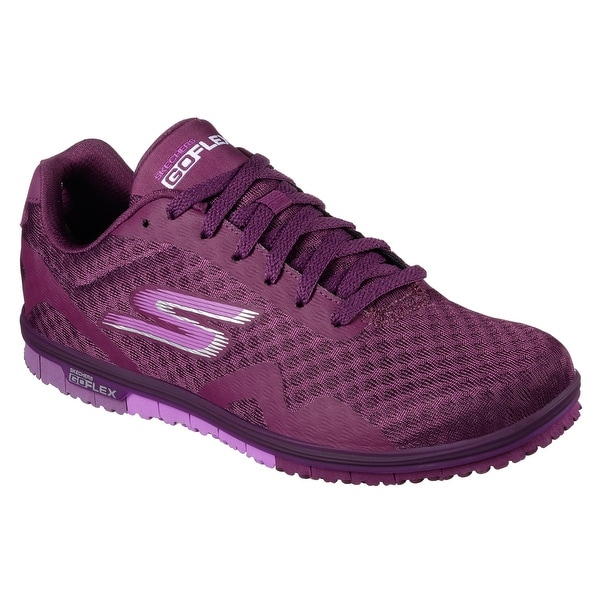 Skechers 14006 PUR Women's GO MINI FLEX WALK Walking