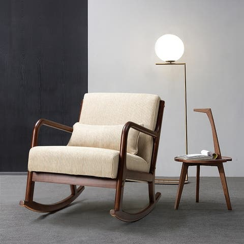 Zulama Upholstered Rocking Chair