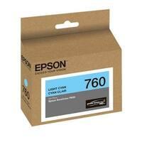 Epson T760520 Ultrachrome Hd Light Cyan Standard Capacity Cartridge Ink