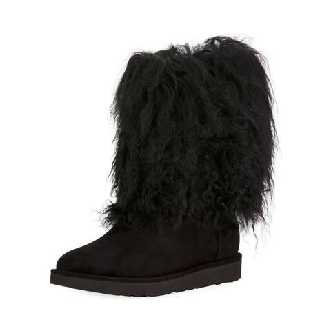 Ugg Womens Lida Closed Toe Mid-Calf Fashion Boots