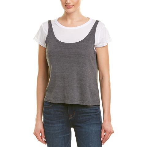 Monrow 2-In-1 T-Shirt & Tank