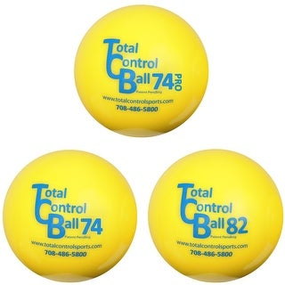 Total Control Sports Weighted Baseball Training Aid Balls - 3 Pack