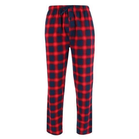 Wanted Men's 100% Cotton Flannel Lounge Pajama Jogger Pants