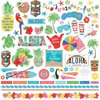 "Aloha Stickers 12""X12""-Element"