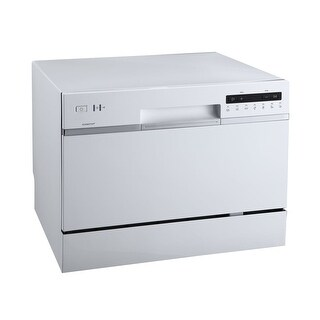 "EdgeStar DWP62 22"" Wide 6 Place Setting Energy Star Rated Countertop Dishwasher - N/A"