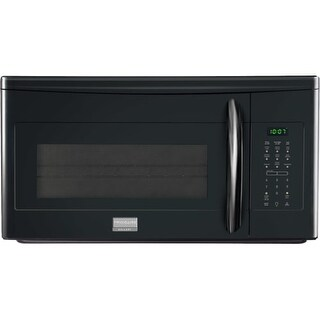 Frigidaire FGMV173K 30 Inch Wide 1.7 Cu. Ft. 1000 Watt Over-The-Range Microwave Oven with Effortless Reheat