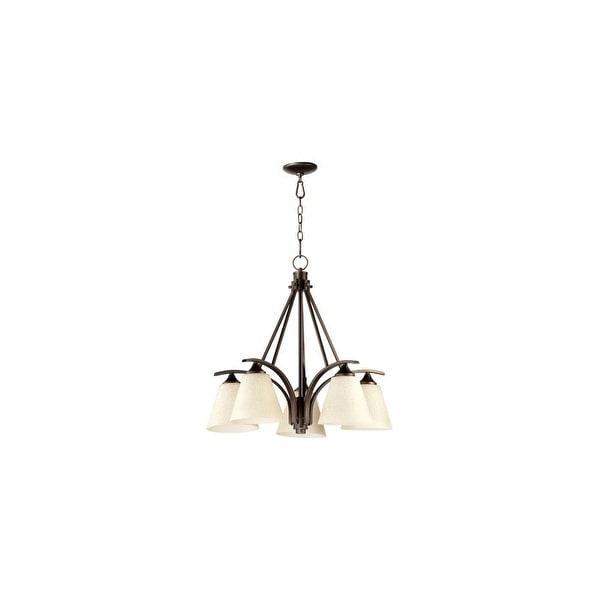 Quorum International Q6329 5 1 Winslet Ii Light Tier Down Lighting Chandelier Oiled Bronze