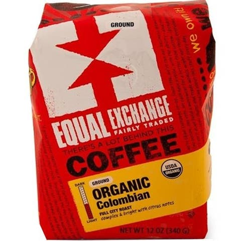 Equal Exchange - Organic Colombian Coffee ( 6 - 12 OZ)