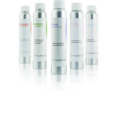 Steamist Energize Total Sense Energize Aromatherapy Essential Oils