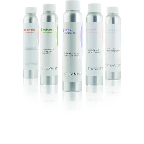 Steamist Restore Total Sense Restore Aromatherapy Essential Oils