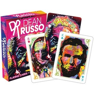 Dean Russo Pop Culture Licensed Playing Cards - Standard Poker Deck - MultiColor
