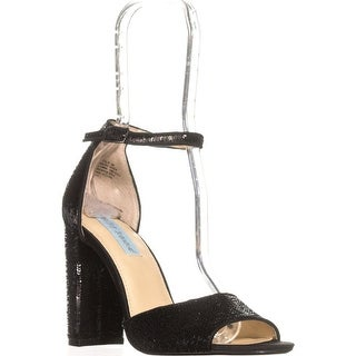Blue by Betsey Johnson Calie Dress Sandals, Black