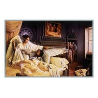 ''Angel of Hope and Healing'' by Edward Clay Wright African American Art Print (22 x 28 in.)