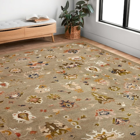 Alexander Home Megan Traditional Floral Area Rug