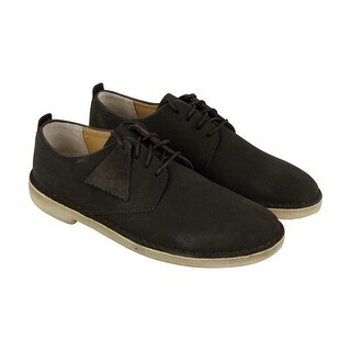 Clarks Desert London Mens Green Suede Casual Dress Lace Up Oxfords Shoes (4 options available)