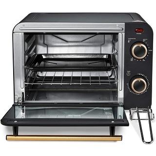 Link to Americana 4 Slice Retro Counter-top Toaster Oven-ETO1200B- Black Similar Items in Kitchen Appliances
