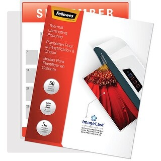 Fellowes, Inc. - Laminating Pouches Preserve, Protect, And Enhance Important Documents. Premium Q