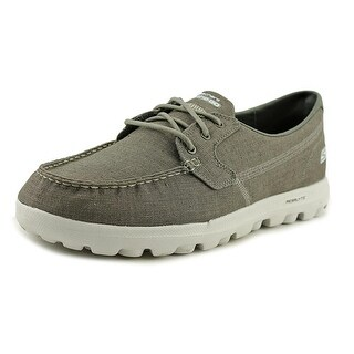 Skechers On the Go Men Round Toe Canvas Oxford