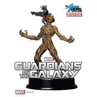 Marvel's Guardians of the Galaxy 1:9 Action Vignette Groot with Rocket Raccoon - multi