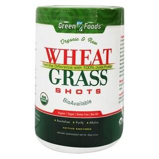 Green Foods Wheat Grass Shots 10.6-ounce