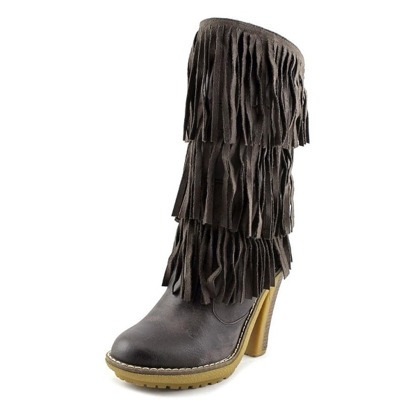 MTNG Opera Women Grey Boots
