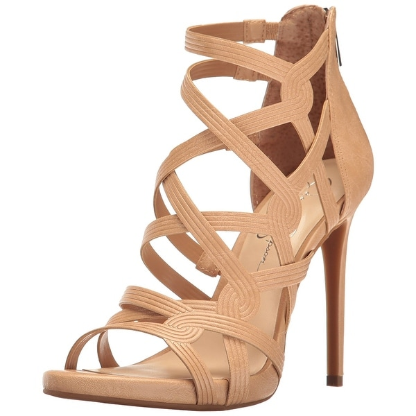 Jessica Simpson Womens Rainah Open Toe Casual Strappy Sandals
