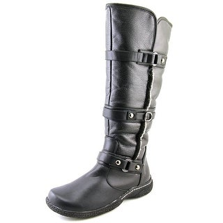 Wanderlust Gabrielle Wide Calf W Round Toe Leather Knee High Boot