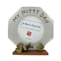 My Nutty Dad Picture Frame by Russ