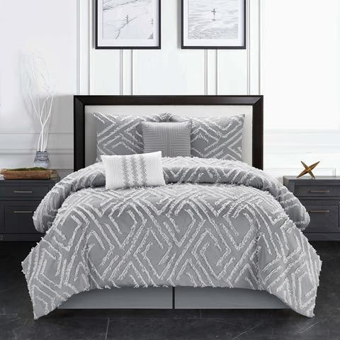 Grand Avenue Dexer 6-Piece Comforter Set